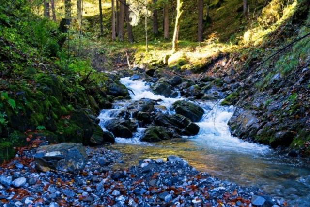 Wasserlauf in der Klamm