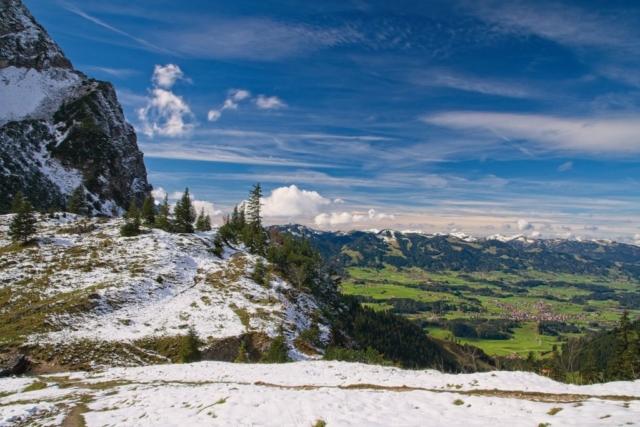 Oberstdorf im Tal