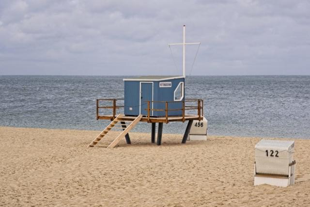 Rettungsstand am Strand