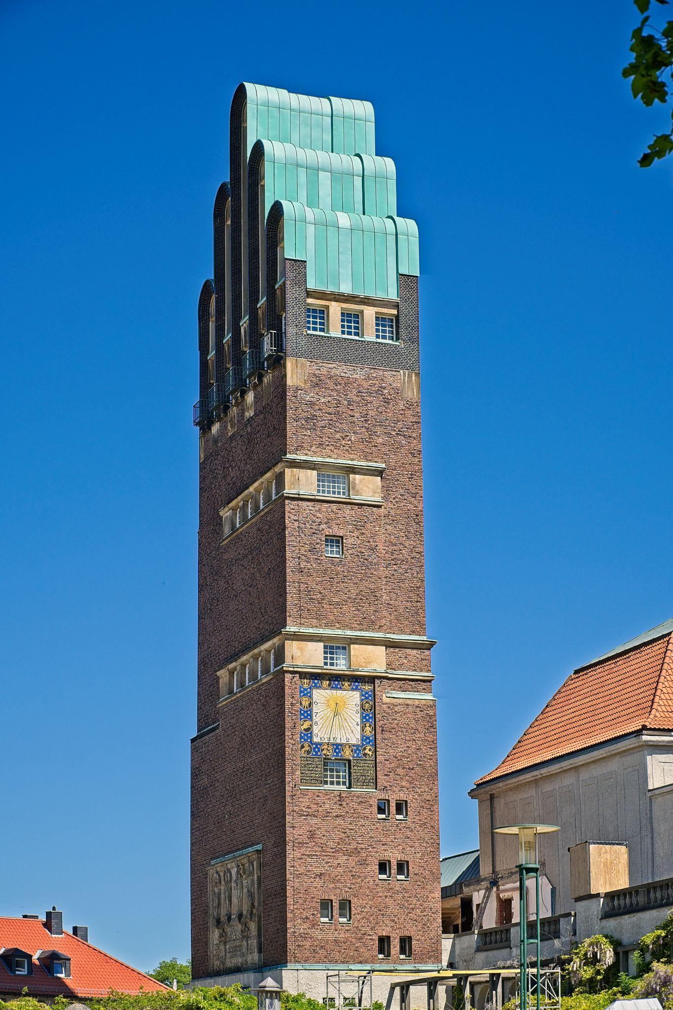 Hochzeitsturm der Stadt Darmstadt