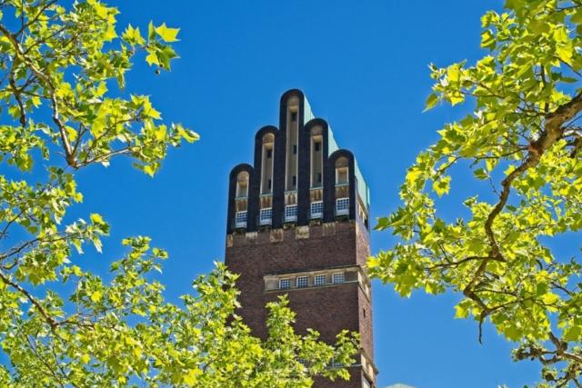Spitze des Turms