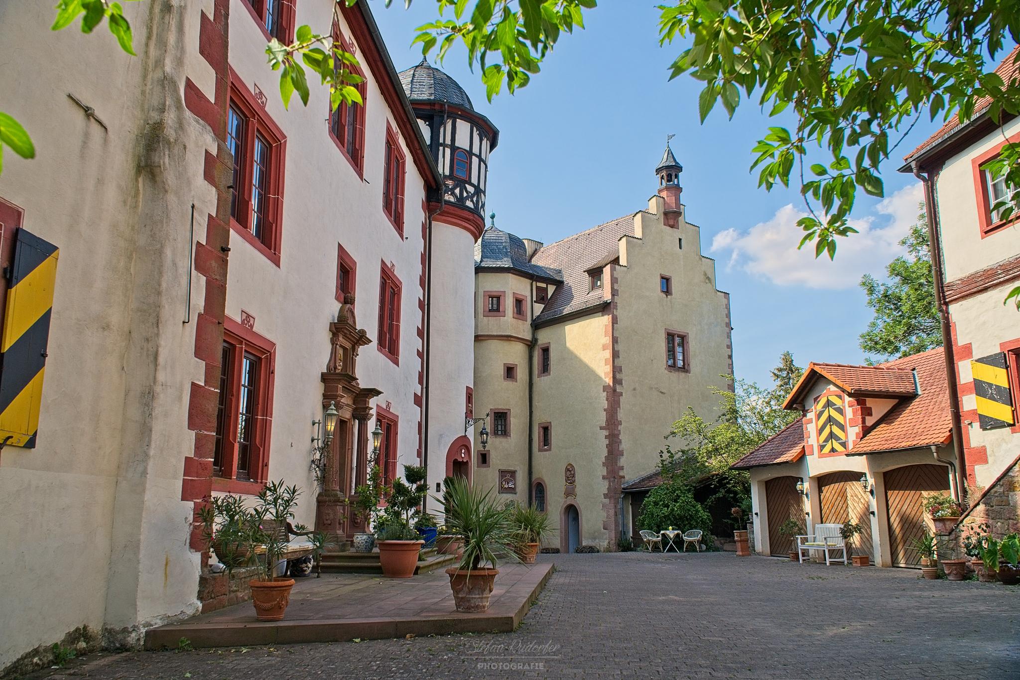 Innenhof der Gamburg