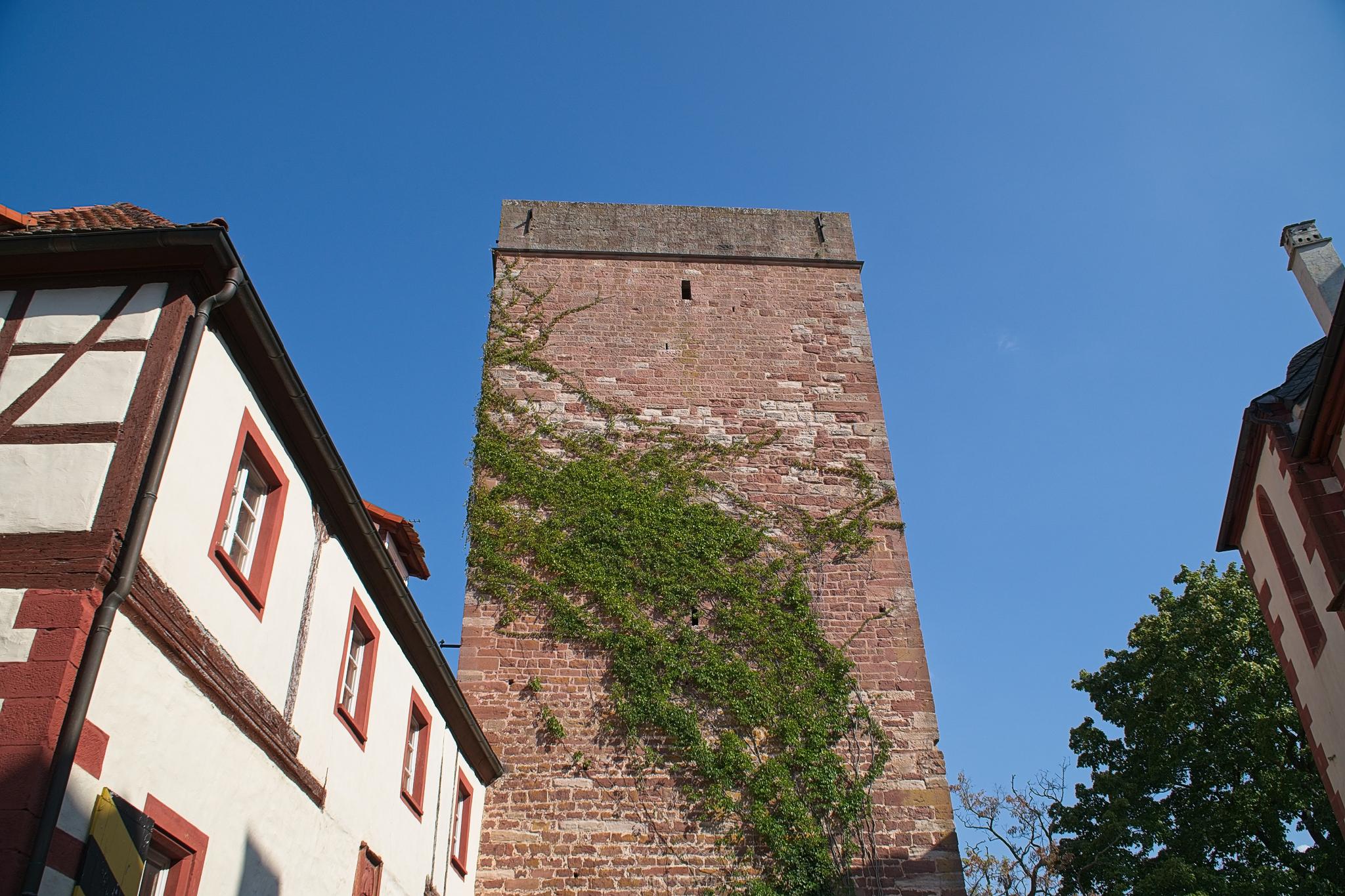 Wachturm aus Sandstein