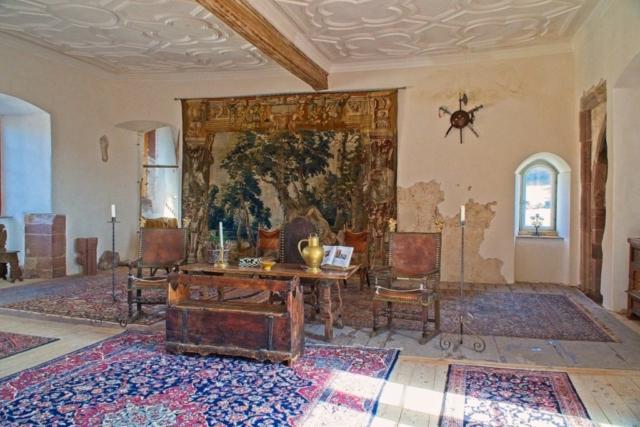 Saal in der Burg