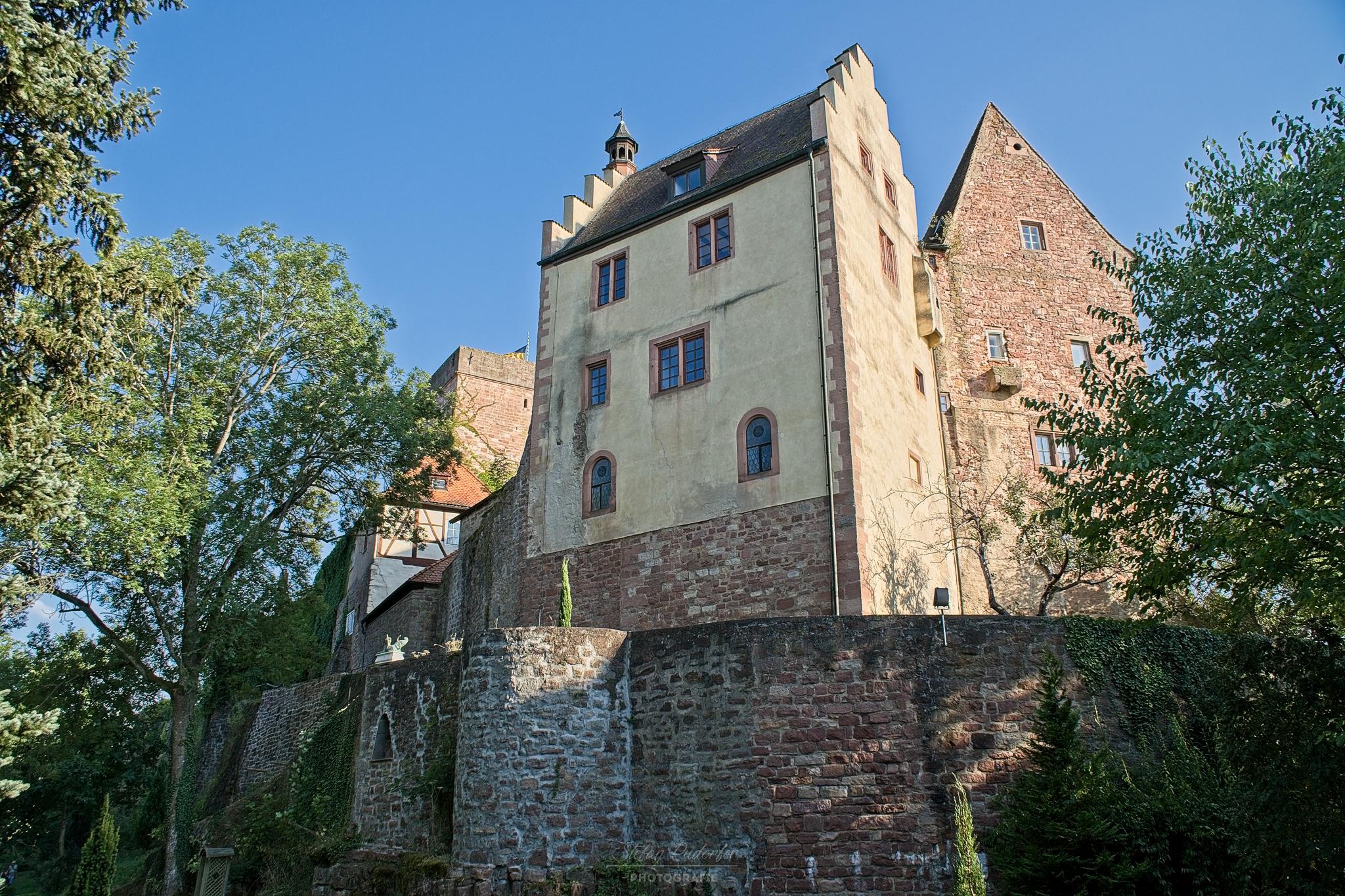 Rückansicht der Burg