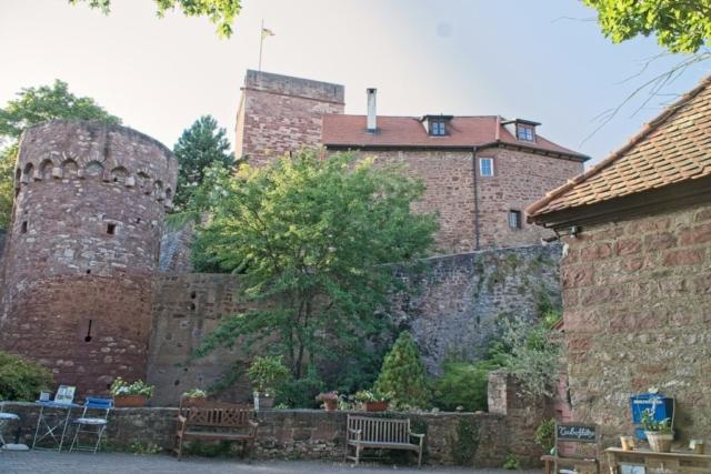 Eingangsbereich zur Burg