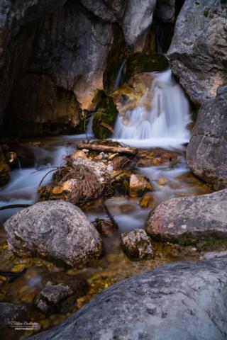Wasserfall in den Topf