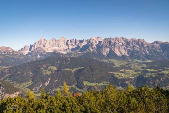 Blick Dachsteinmassiv