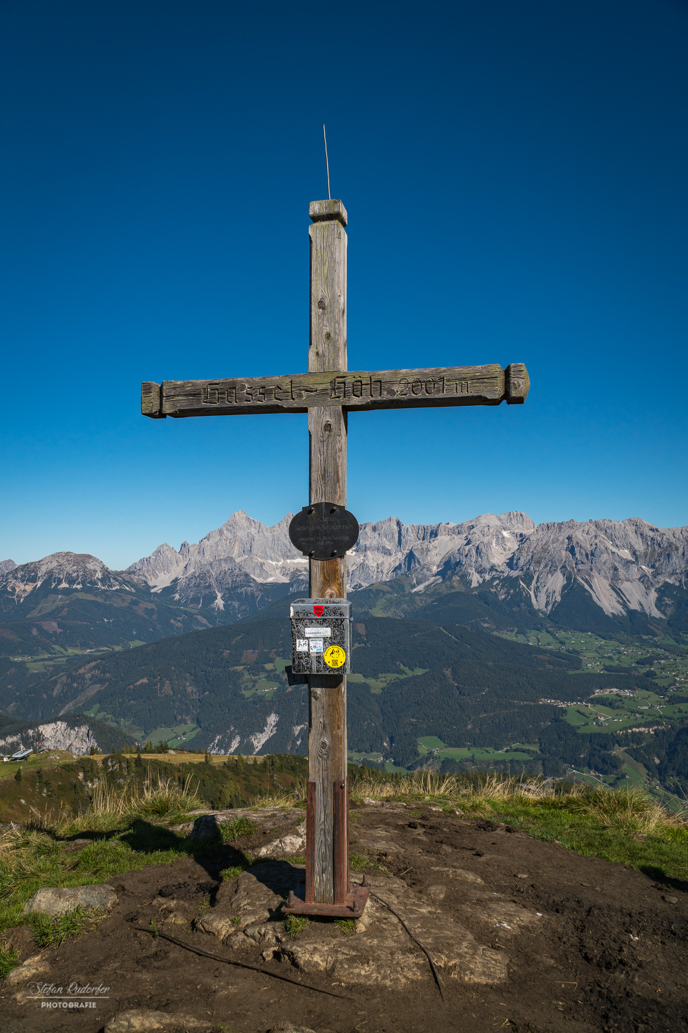 Gipfelkreuz Gasselhöhe