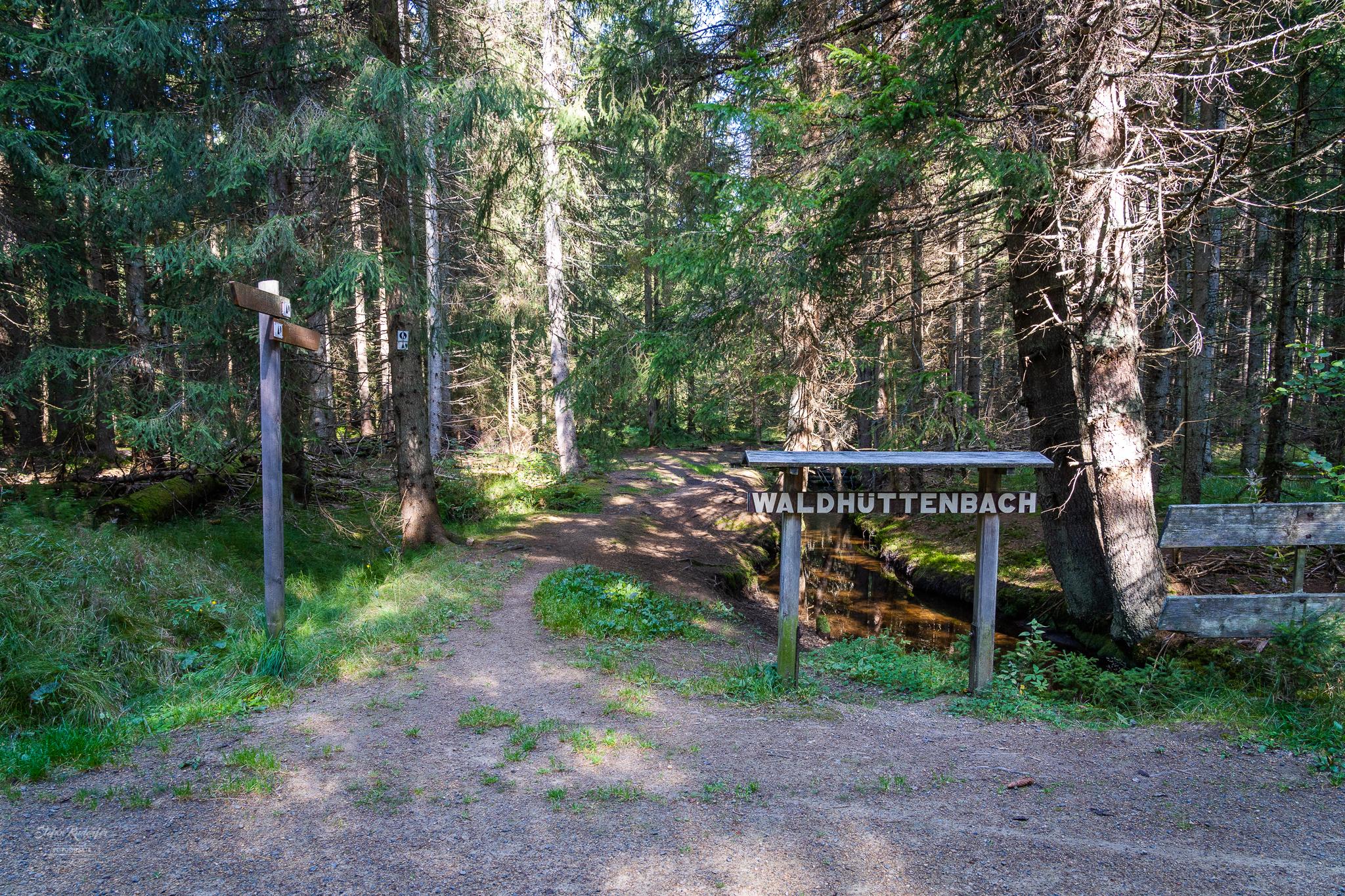 Feldweg Waldhüttenbach