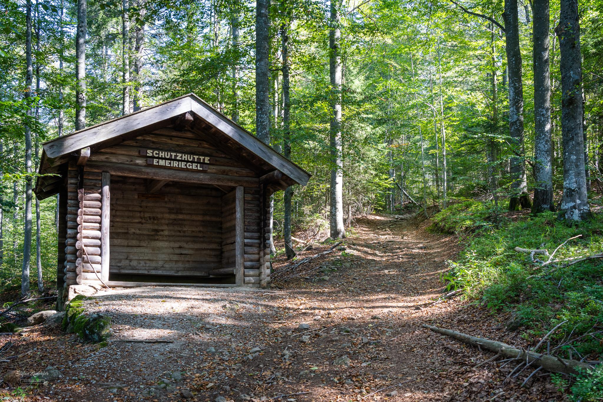 Schutzhütte Emeiriegel