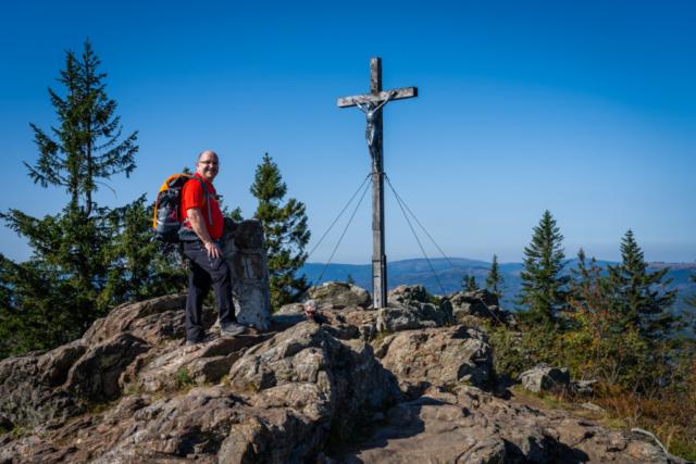 Gipfelkreuz Großer Rachel