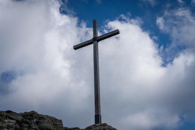 Gipfelkreuz vom Großen Arber