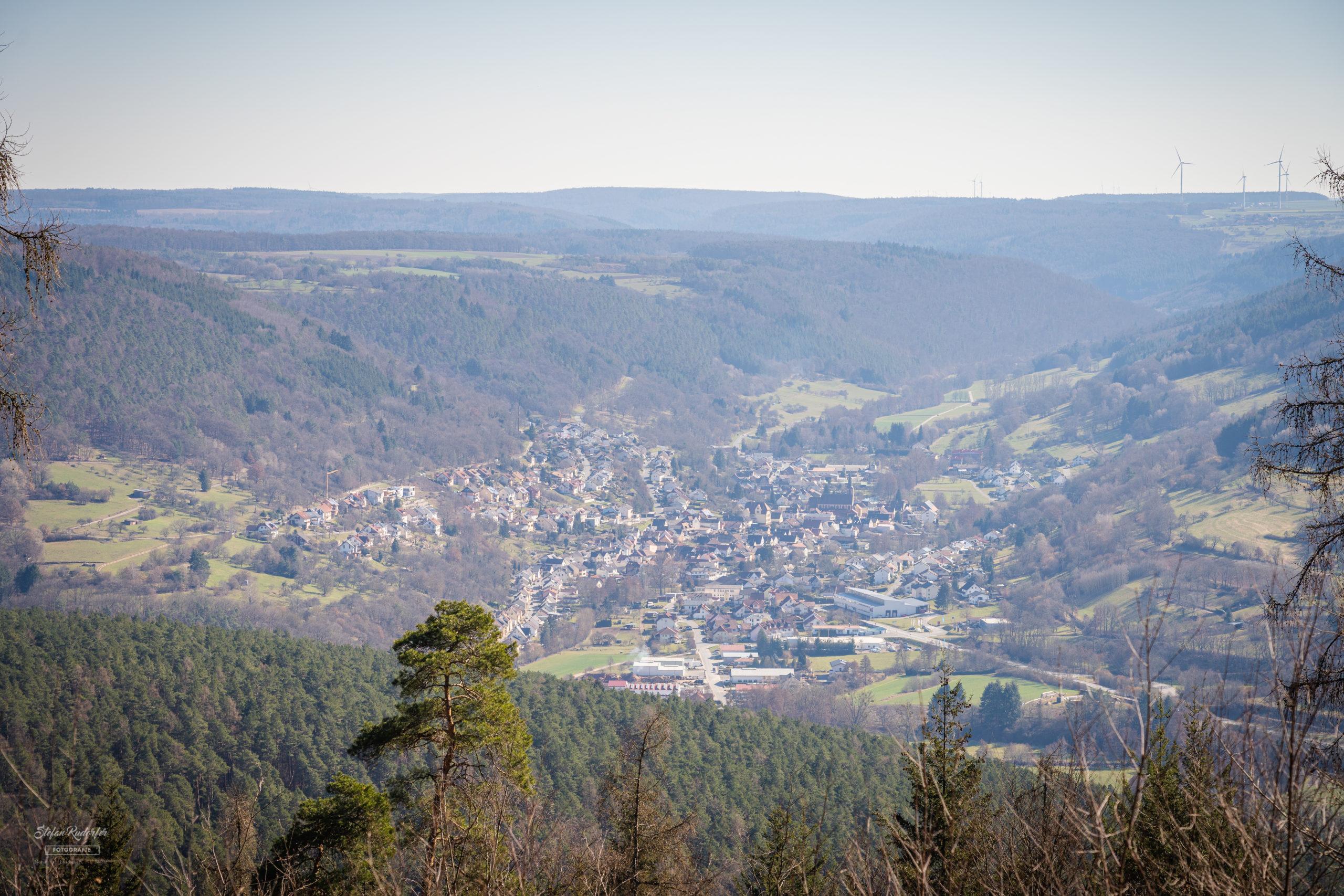 Ausblick über die Gemeinde Eichenbühl