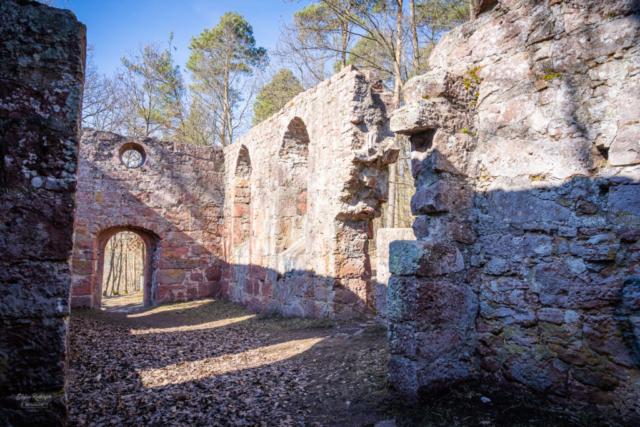 Ruine der Centgrafenkapelle